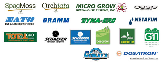 greenhouse specialists growing supplier logos